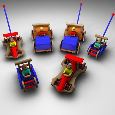 toy car 3ds