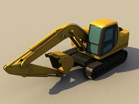 3d rooter navvy forklift model