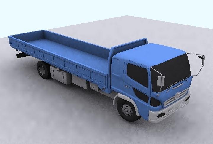 camion truck 3d model