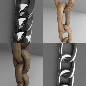 3d model chains