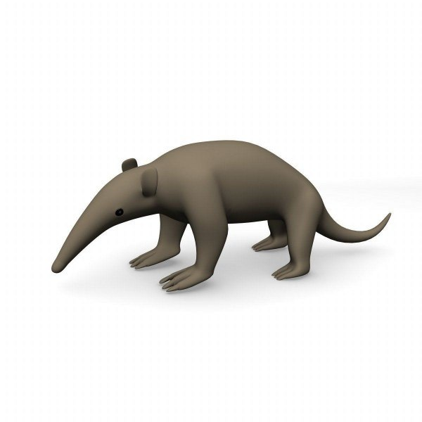 3ds max ant eater anteater