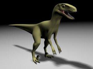 3d velociraptor model