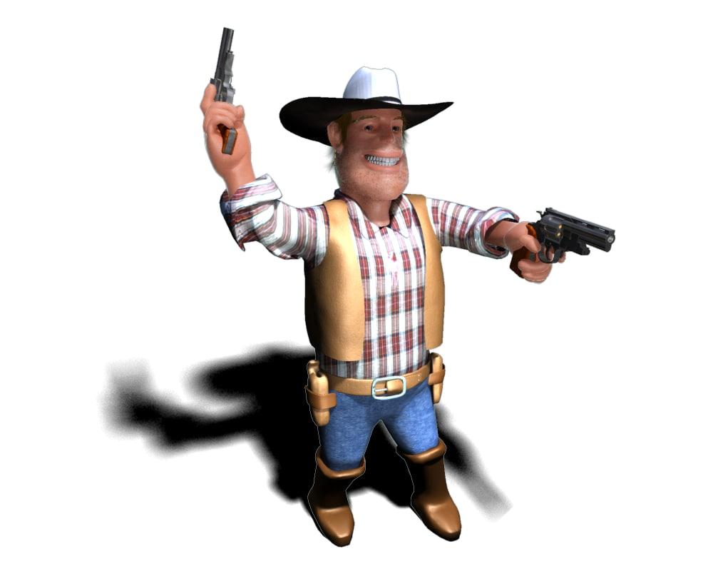 max cowboy cow boy