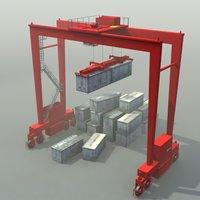 RTG Crane 3D