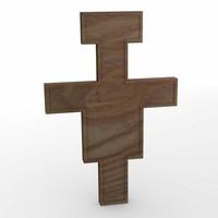 crucifix 3d 3ds
