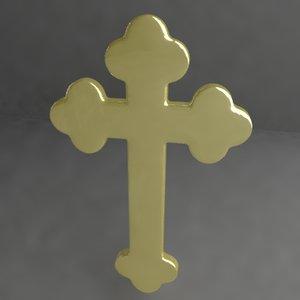 3d crucifix model