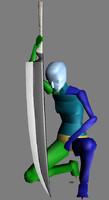 Ichigo s sword - zangetsu