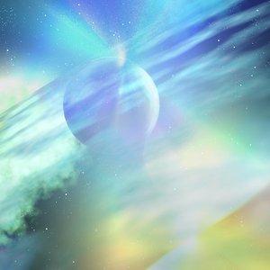 3ds max nebula stars