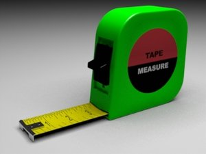 tape measure obj