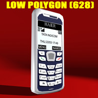 3d cell phone model