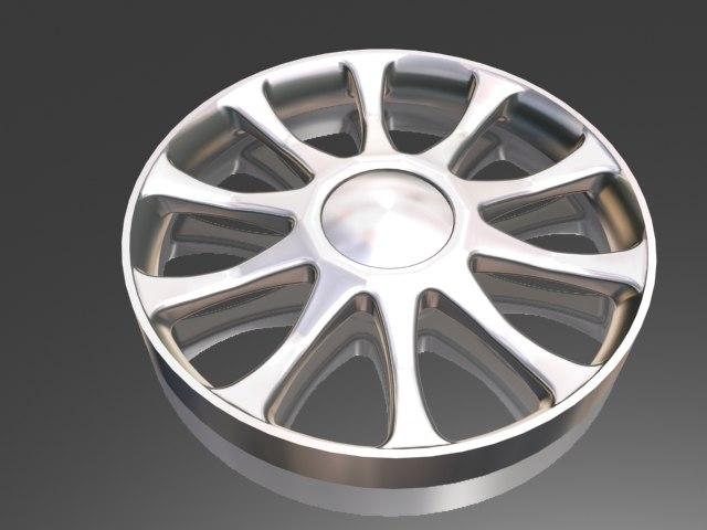 3d 10 spoke wheel
