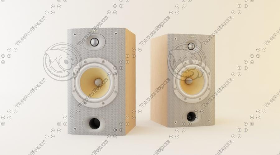 3ds max bowers wilkins dm601 hi-fi