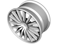 alloy wheel 3d max