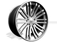 maya alloy wheel design
