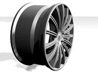 3d alloy wheel design