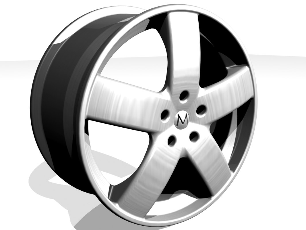 alloy wheel design 3d max