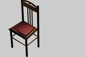 chair c4d free