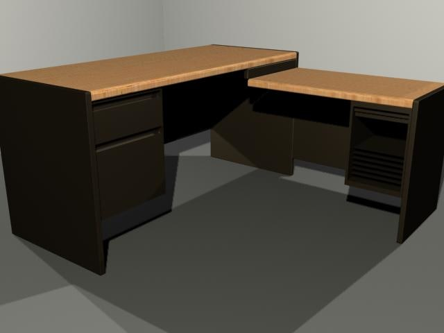 3d x office desk