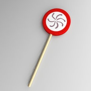 lollipop 3d model