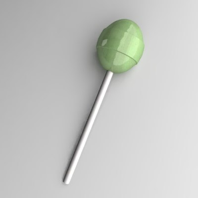 lollipop 3d model