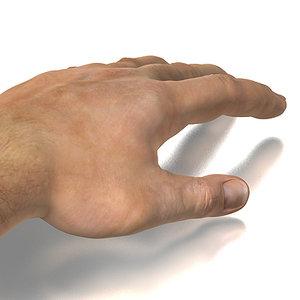 3dsmax photorealistic human hand