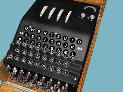 max cipher machine enigma