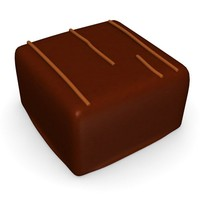 3d model chocolate candy