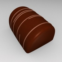 3dsmax chocolate candy