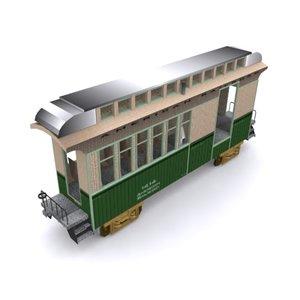 3d model combine car