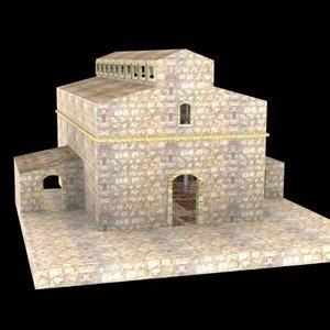 pelican century temple 3d model