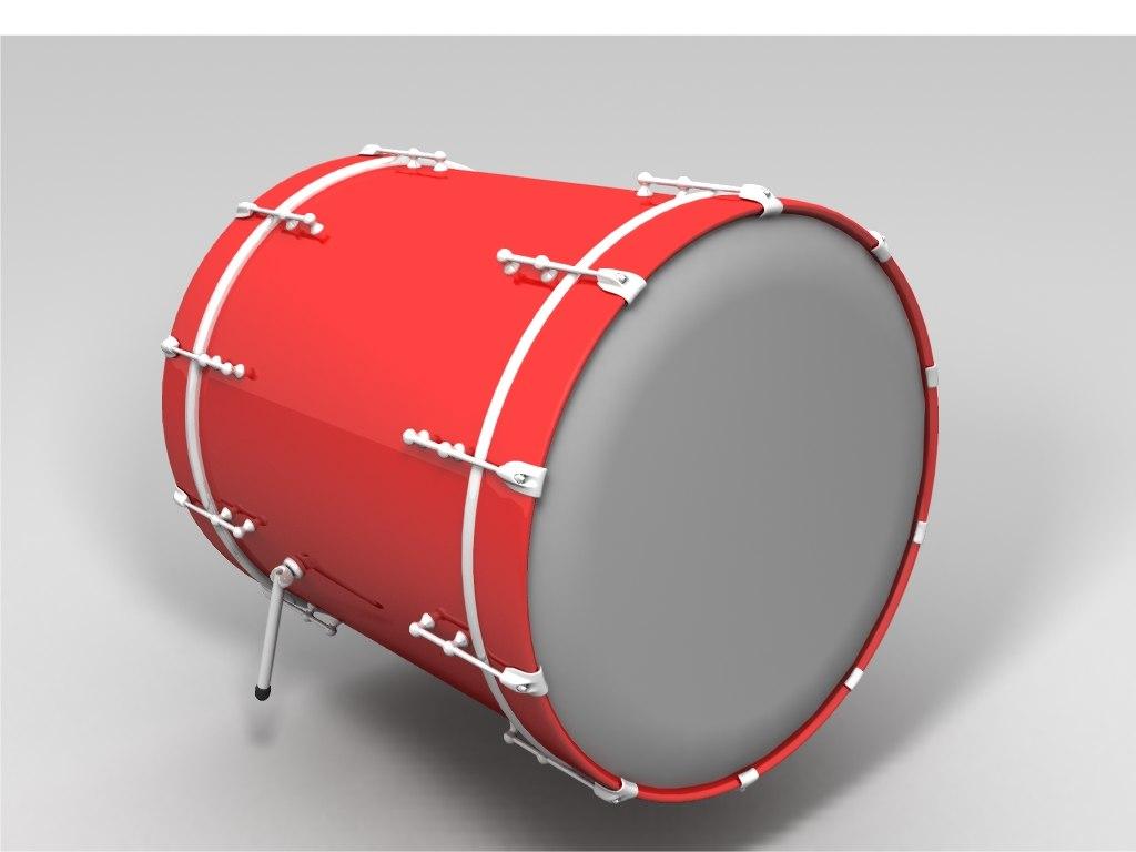 lightwave bass drum
