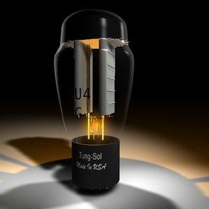 rectifier tube 3d model