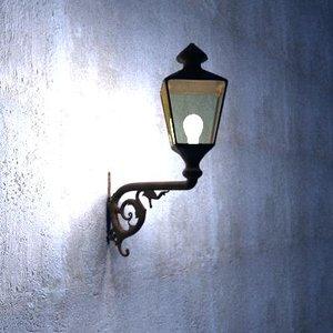street lantern obj