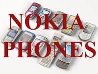 Nokia phones (Low Poly)