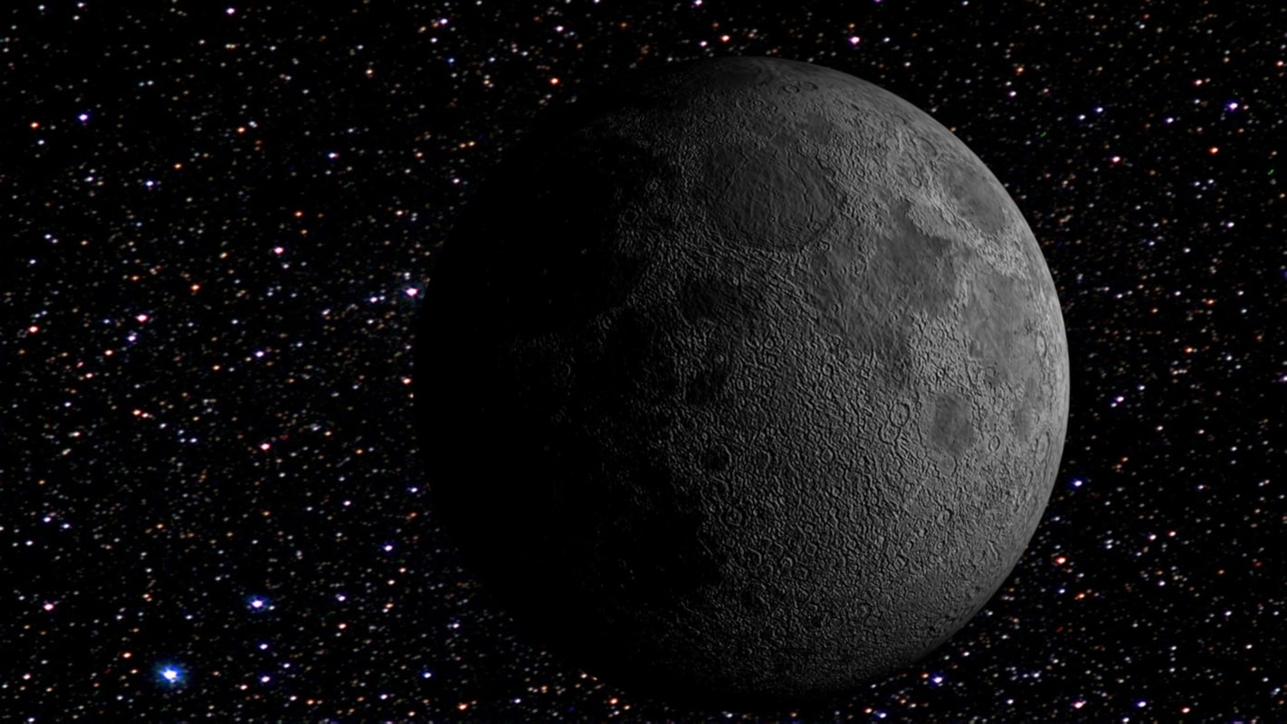 3dsmax realistic moon