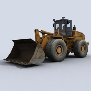 loader industrial 3d max