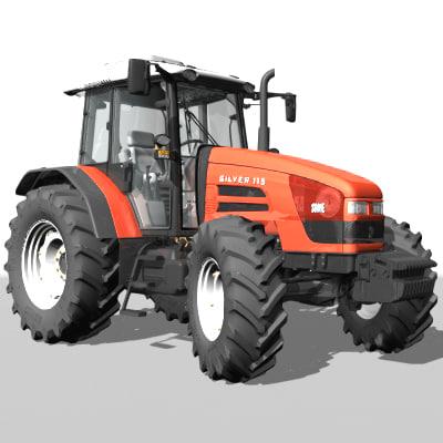 lightwave silver 115 tractor