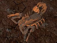 maya scorpion puzzle