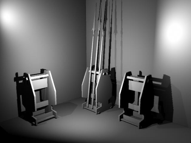 3d weapons rack