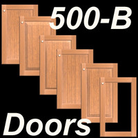 500B-SET-Frame-B-Wood Kitchen Cabinet doors