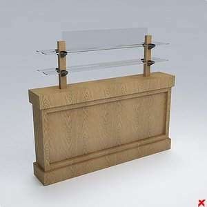 buffet cabinet dxf free