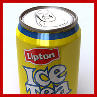 0 lipton ice tea 3d model