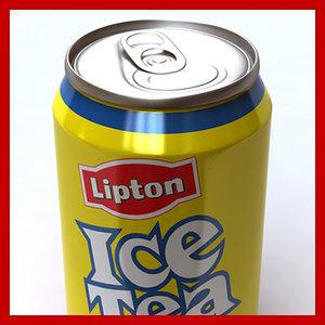 0 lipton ice tea 3d model