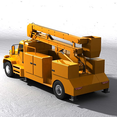 max aerial bucket truck