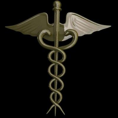 3d model sign medical