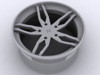 3d alloy wheel model