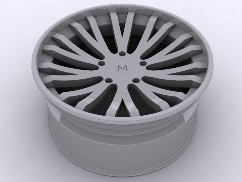 alloy wheel 3d max
