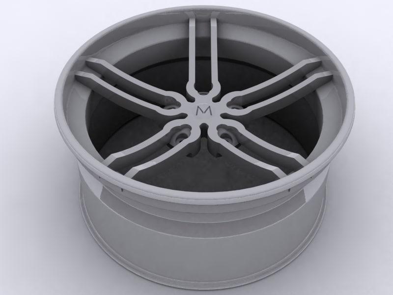 alloy wheel 3d model