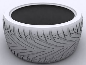 toyo proxy tire 3d model