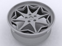 3d model alloy wheel